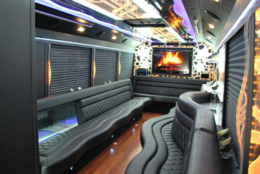 long island party limo busses