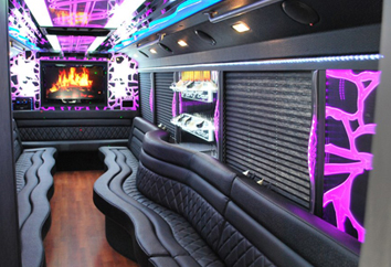 new york limo party bus